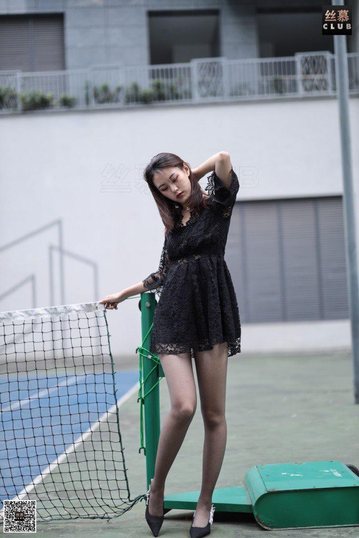 [丝慕GIRL] SM066 天天一元 欣妹《网球场》[64P/80.4M]